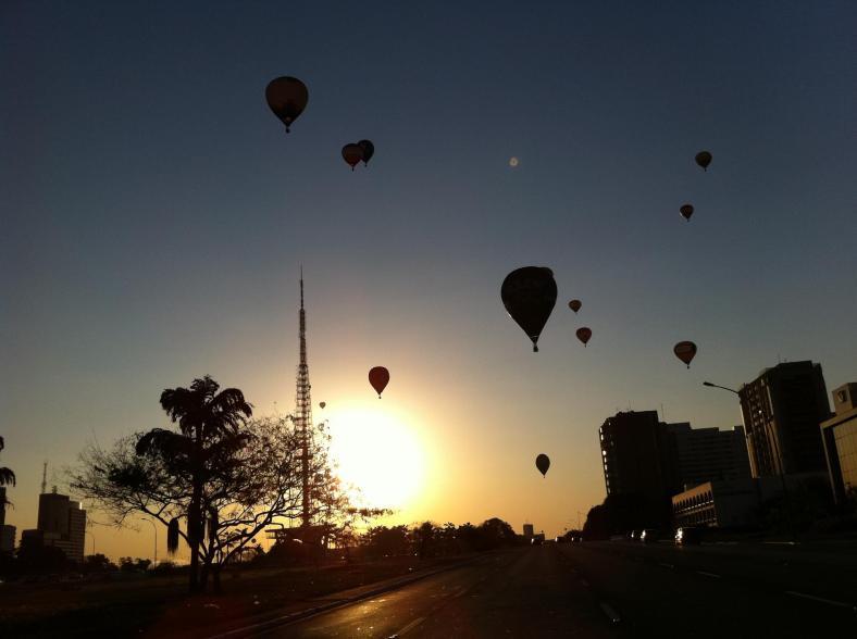 Pôr do Sol Brasília