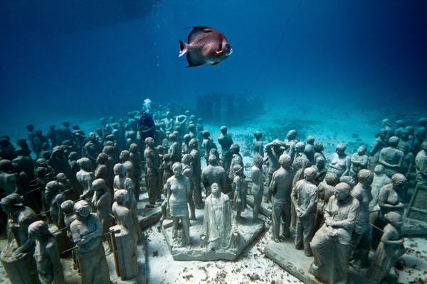 Isla Mujeres – Museo Subacuático