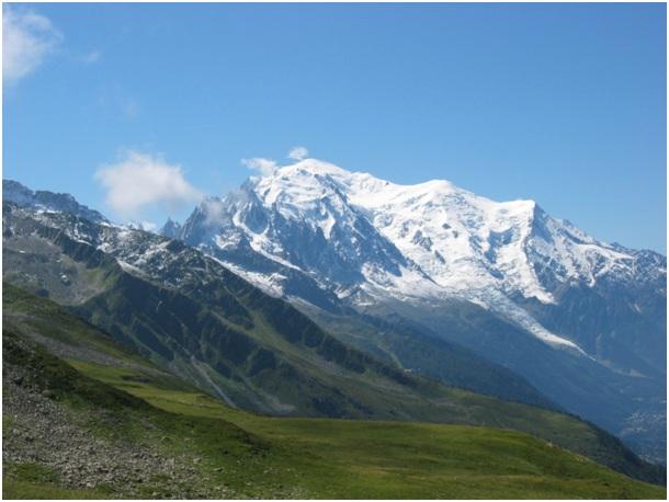 Le Mont Blanc (Alpes)