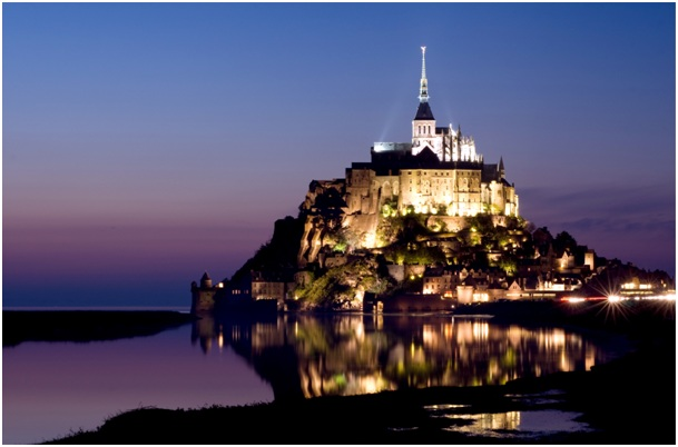 Mont-Saint-Michel, Normandia