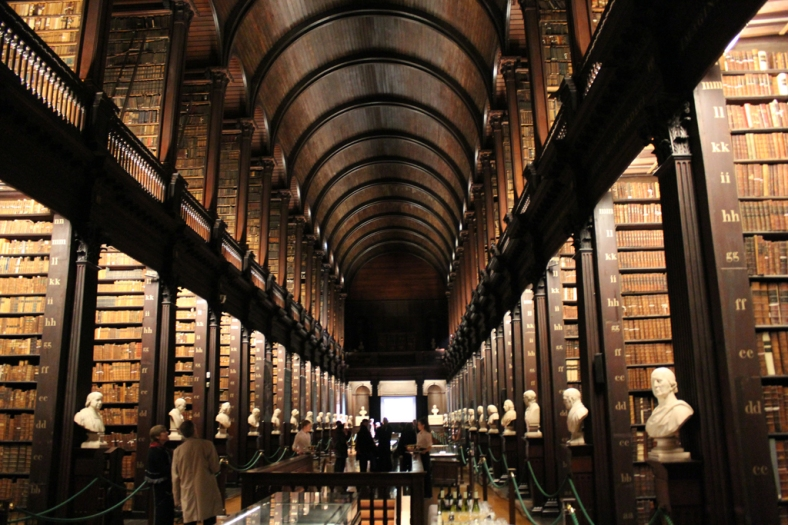 Trinity Library, Trinity college Dublin2