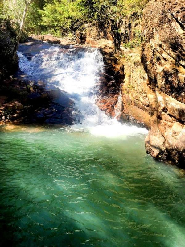 Cachoeira do Ribeirão Poço Azul